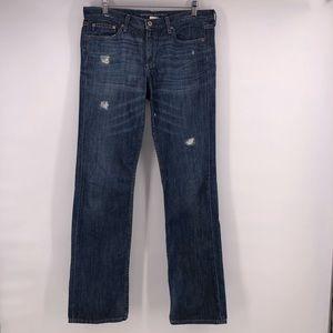 Banana Republic Jeans straight leg distressed